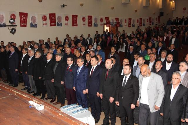 MHP Samsun Çarşamba İlçe Başkanı Düzgün Yeniden Seçildi