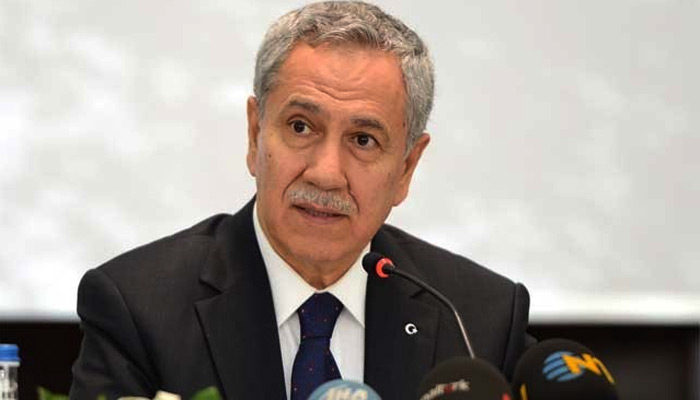 Bülent Arınç'tan AKP'ye dikkat çeken paylaşım