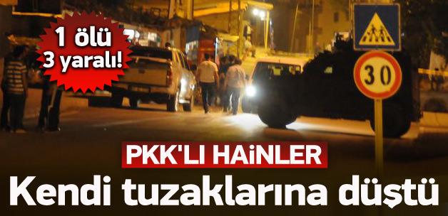 PKK'lılar kazdıkları kuyuya düştü! 1 ölü, 3 yaralı