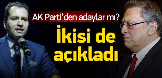 Erbakan ve Yılmaz, AK Parti'den aday mı?