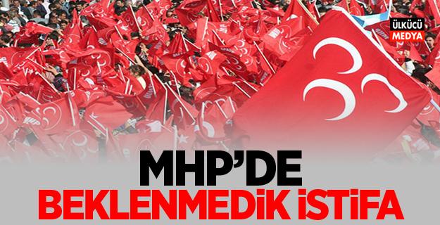 MHP'de beklenmedik istifa!