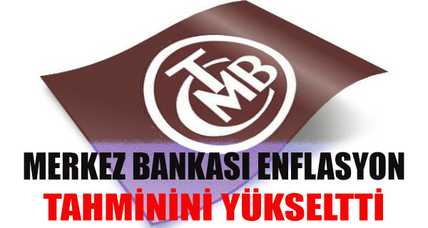 MB Yıllık Enflasyon Tahminini Yüzde8,5'e Yükseltti