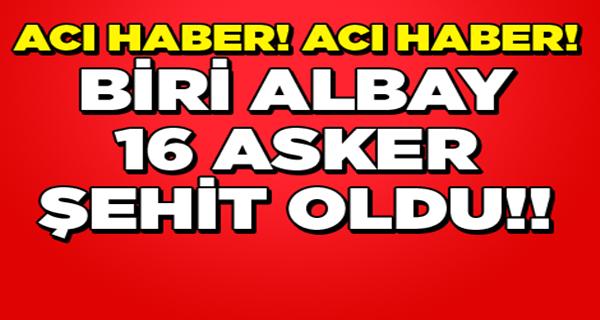 PKK'lı Hainlerden Dağlıca'da Tuzak 16 Şehit