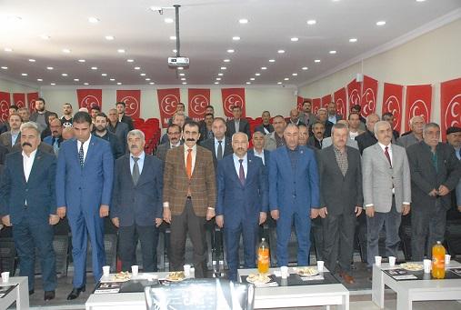 MHP Van Tuşba olağan 2. Kongresi yapıldı