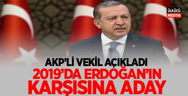 2019'da Erdoğan'ın Karşısına Aday Olacak