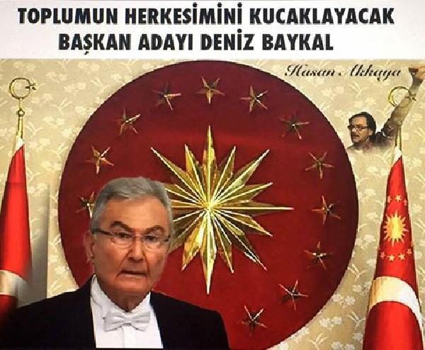 Cumhurbaşkanı Forslu Baykal Paylaşımı