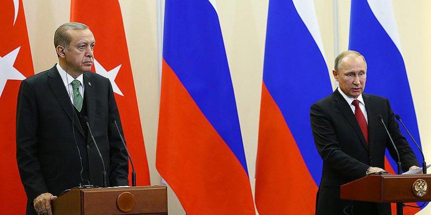 Erdoğan ve Putin'den 'Suriye' kararı
