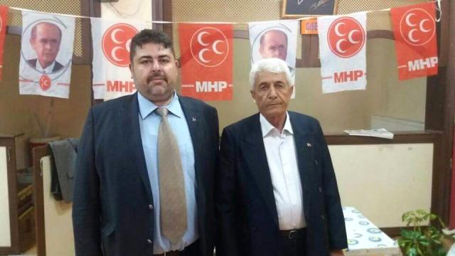 Türker, MHP Bolvadin İlçe Başkanı Oldu
