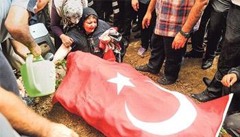 Şehidin Cenaze Töreninde '400 Vekil' İsyanı