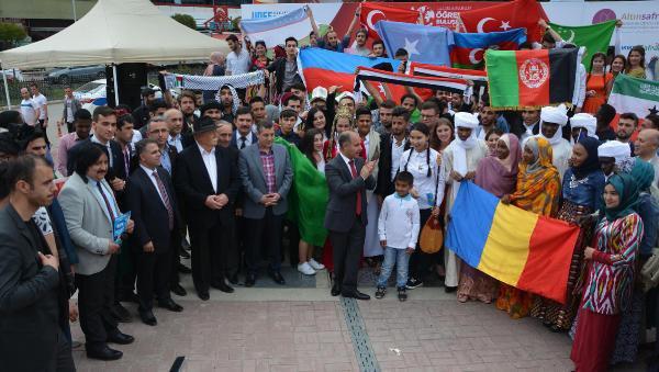Karabük'te Okuyan 46 Ülkeden Öğrenciler Buluştu