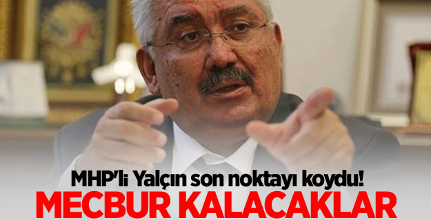 MHP'li Semih Yalçın tartışmalara nokta koydu!
