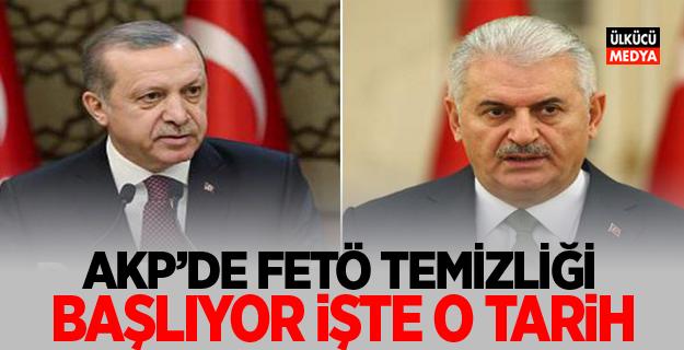 AKP'de Fetö Temizliği Başlıyor! İşte O Tarih