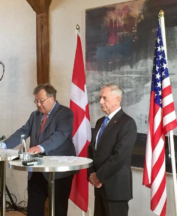 Mattis: Teröre Karşı Türkiye'yle Birlikte Çalışmak İstiyoruz