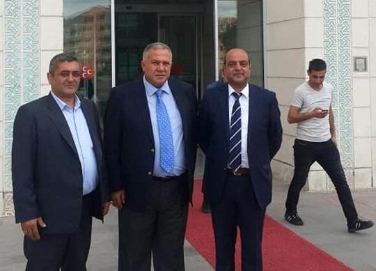 Kilis'te MHP İl Başkanlığına Hasan Mısırlıgil Atandı