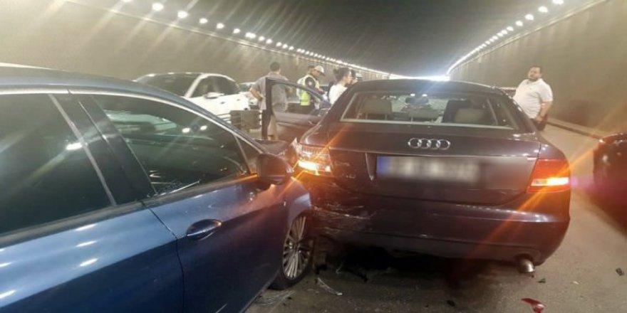 Başkentte zincirleme trafik kazası!