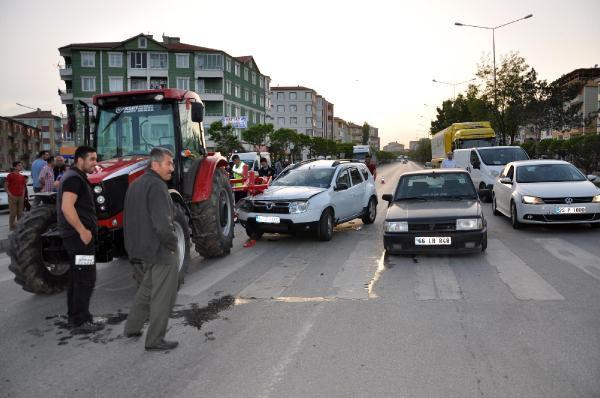 Yozgat Sorgun'da Zincirleme Kaza: 8 Yaralı
