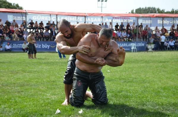 Silivri'de Yağlı Güreş Heyecanı