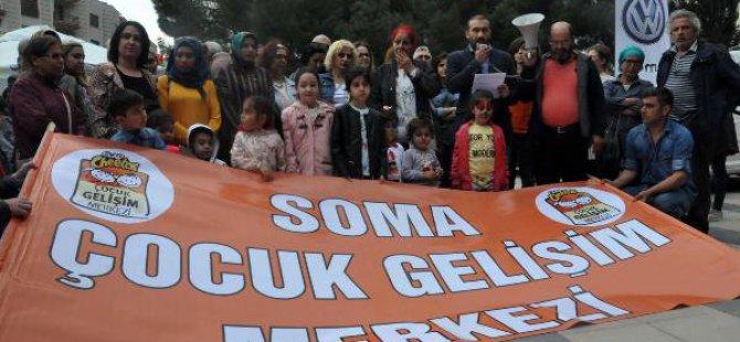 Soma Çocuk Gelişim Merkezi Derneği Yönetimi Destek İstedi