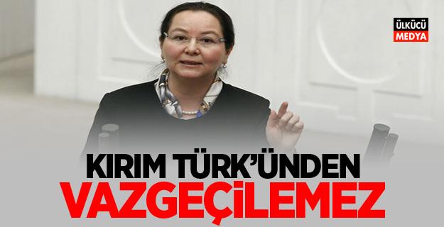 MHP'li Demirel: Kırım Türk'ünden vazgeçilemez