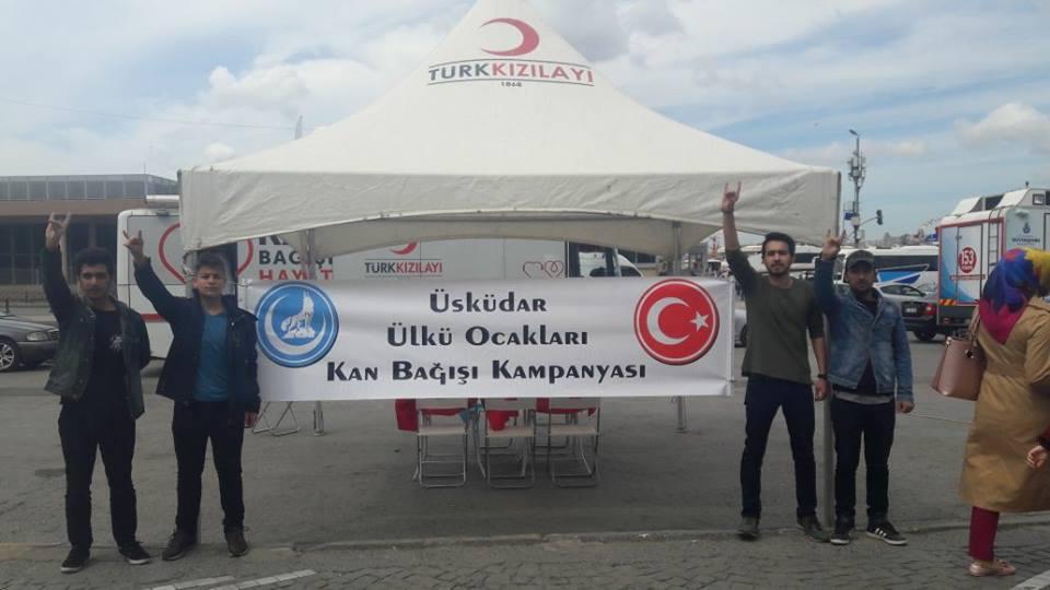Üsküdar Ülkü Ocakları'ndan Kan Bağışı Kampanyası