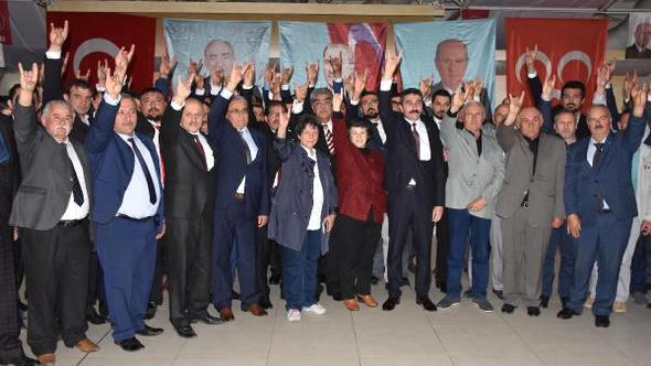 MHP Uşak Kongresi Yapıldı: Kuruçay Güven Tazeledi