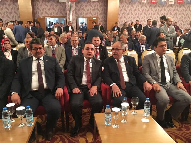 MHP Konya'da Murat Çiçek yeniden başkan