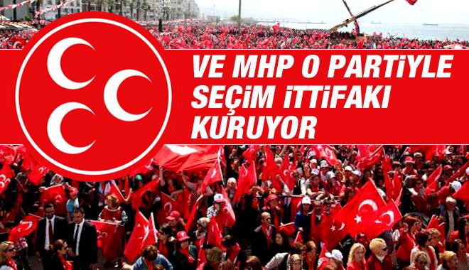 MHP O Partiyle Seçim İttifakı Kuruyor!