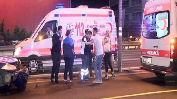 Bahçelievler'de Trafik Kazası, 1 Yaralı