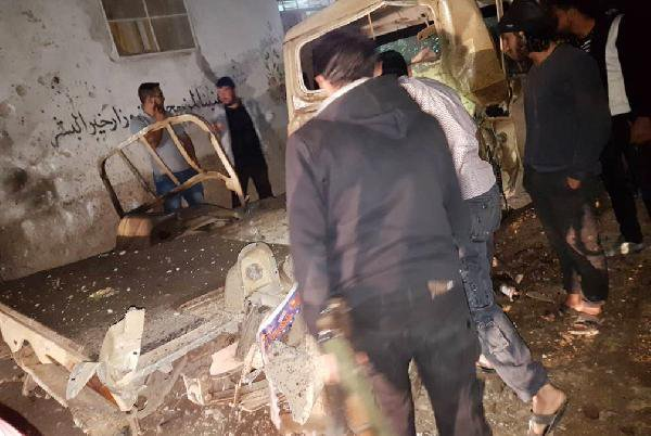 Azez İlçe Merkezinde Bombalı Saldırı: ölü ve yaralılar var