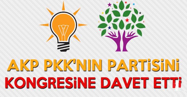 AKP kongresine HDP'de davet edildi