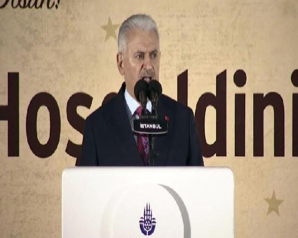 Başbakan Yıldırım İstanbul'un Fethi İçin Düzenlenen Törende Konuştu