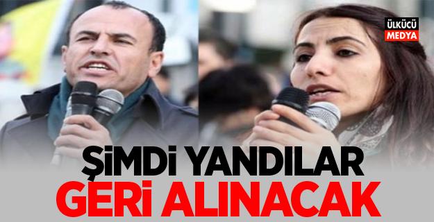 HDP'li vekiller şimdi yandı! geri alınacak