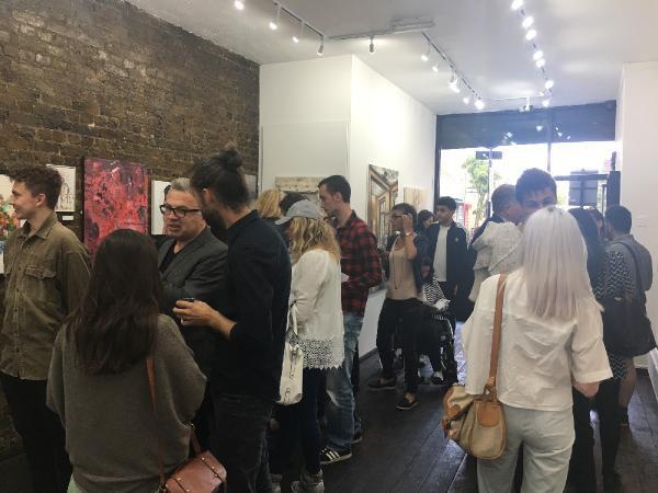 Türk Sanatçı Londra'da Uluslararası Sanat Yarışması Düzenledi