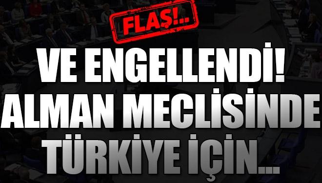 Alman Meclisi Türkiye için birbirine girdiler