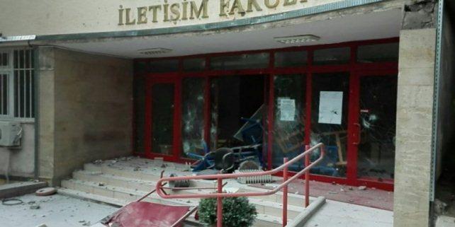 Ankara Üniversitesi'nde çirkin olay!..