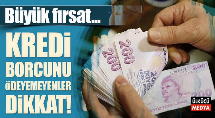Banka Kredi Borcu Olanlar Dikkat! Büyük Fırsat...