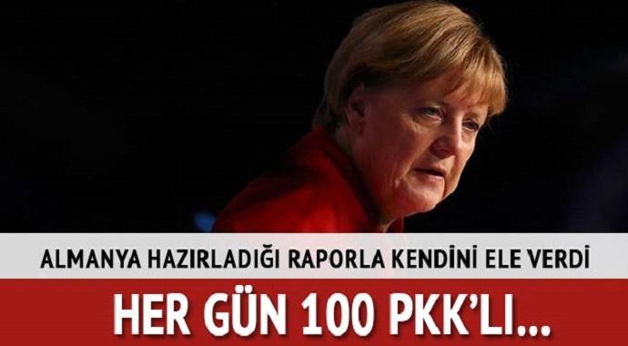 Almanya hazırladığı rapor ile kendini ele verdi!