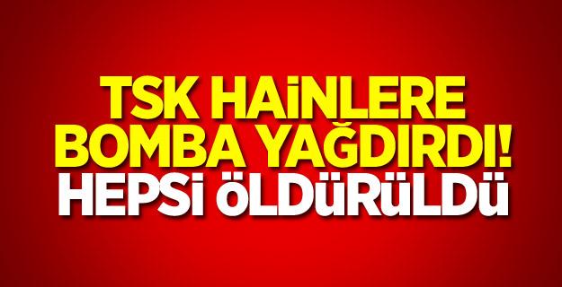 PKK'ya hava harekatı: Hepsi öldürüldü!