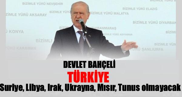 Devlet Bahçeli: Türkiye, Zincirlikuyu Mezarlığı'na dönmeyecek