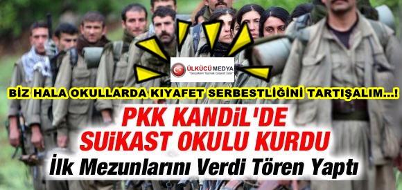 PKK, Kandil'de Suikast Okulu Kurdu...!