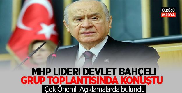 MHP Lideri Devlet Bahçeli'den Çok Önemli Açıklamalar
