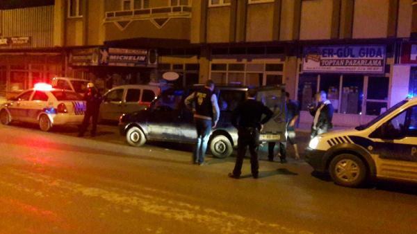 'Dur' İhtarına Uymayan Alkollü Sürücü Tutuklandı