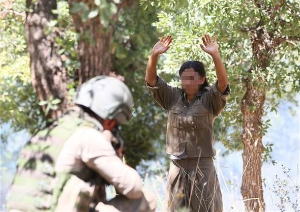 Lice'deki Büyük Operasyonda 1 Terörist Yakalandı