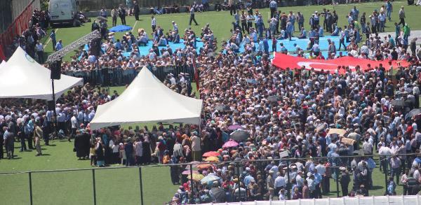 Şehit Uzman Çavuş Sabri Eryeler'i 13 Bin Hemşehresi Uğurladı
