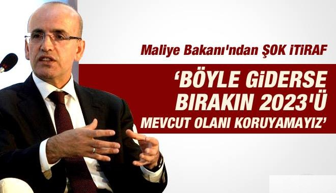 Mehmet Şimşek'ten Ekonomiyle İlgili ŞOK İTİRAF
