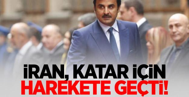 İran, Katar için harekete geçti!