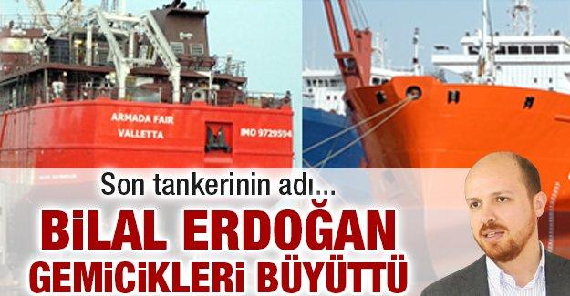 Bilal Erdoğan gemicikleri büyüttü!