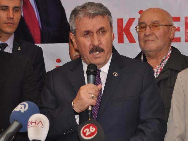BBP Lideri Destici'den Kılıçdaroğlu'na Tepki: Sokaklar Çare Değil