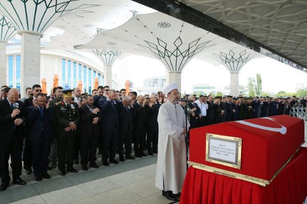 Şehit Uzman Çavuş Abdullah Büyüksoy Ankara'da Son Yolculuğuna Uğurlandı