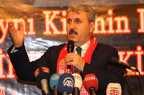 BBP Genel Başkanı Destici: Sokak Çare Değildir